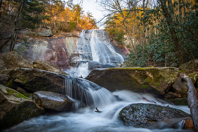 Stone Moutain Falls Sunset