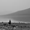 Child at Lake McDonald