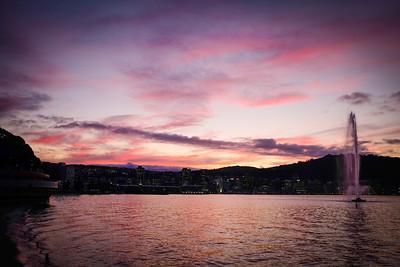 116 Wellington sunset