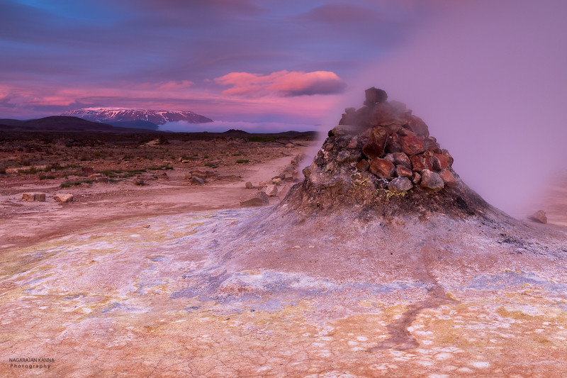 Fumarole @ Hverir, Námafjall Geothermal Area, Iceland