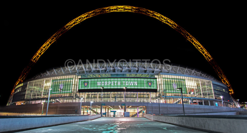 Morpeth Town Wembley Stadium
