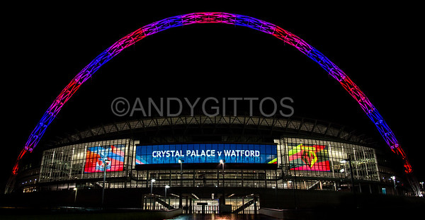 Wembley Stadium: Crystal Palace vs Watford