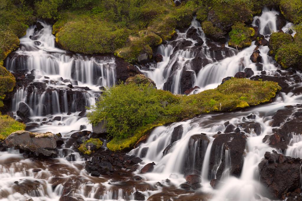 Hraunfossar, Western Iceland