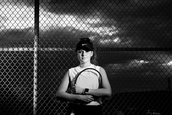 Whitney Black Idaho Falls Tigers Tennis Senior Pictures