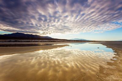 Sunrise, Badwater Basin, Death Valley Nat'l Park