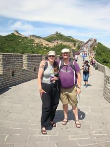 At the Great Wall