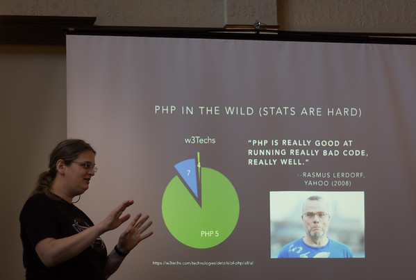 The previous slide was much more positive about PHP 7 :)