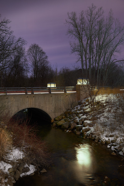 The Rouge River flowing through Cranbrook