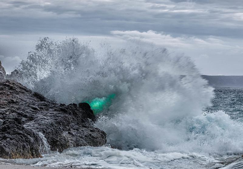 Aquamarine Explosion