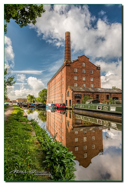 THE HOVIS MILL IN MACCLESFIELD