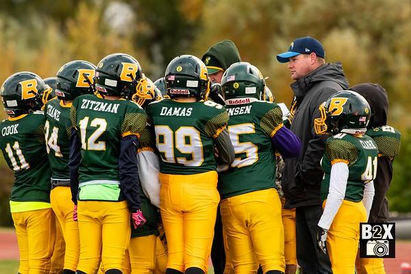 Rocky Mountain Bonneville Bees Thunder Ridge Titans Grid Kid Football