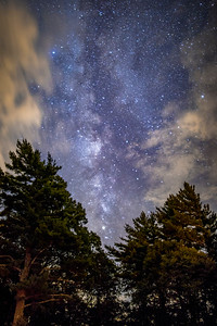 Pines and the Milky Way
