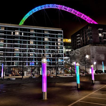 Rainbow Arch and Columns