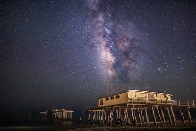 Frisco Pier Milky Way