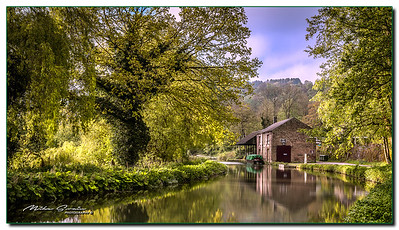 HIGH PEAK JUNCTION ON THE CROMFORD CANAL.