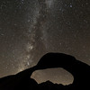 Mobius arch and milkyway