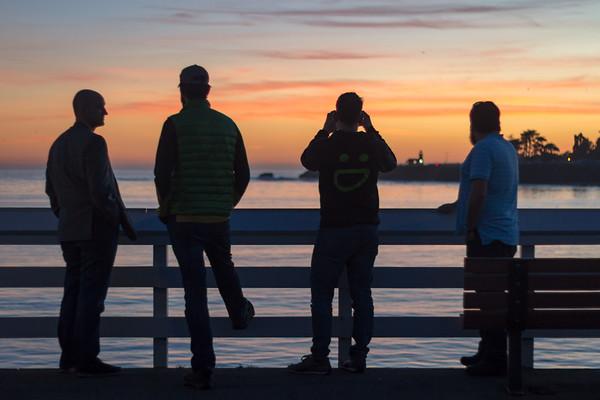 smugmuggers at sunset
