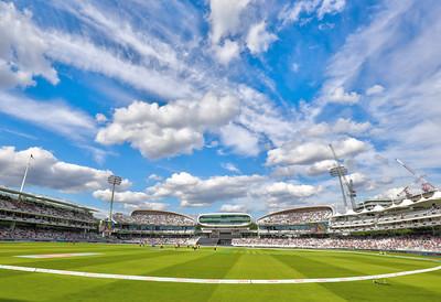 A sky to match the venue