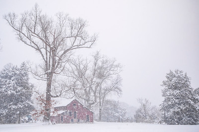 Snowy Farmstead