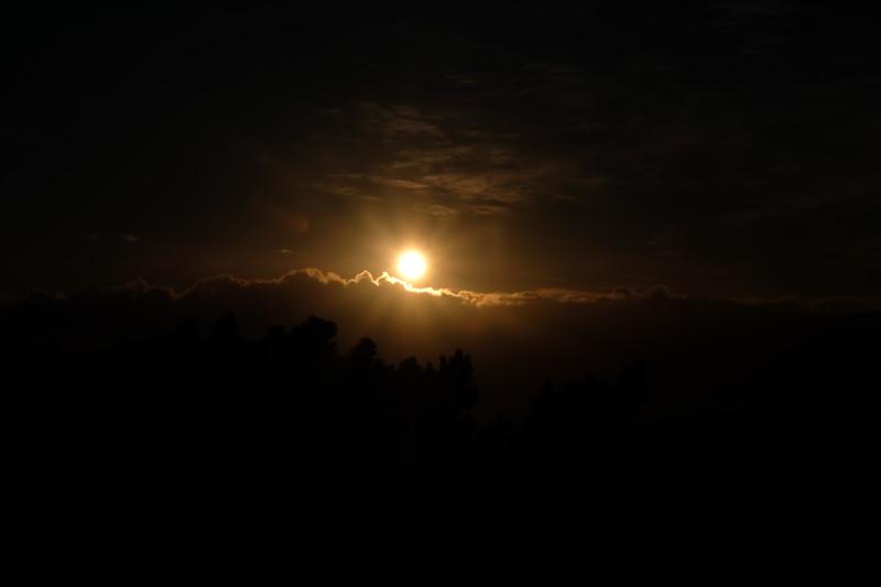 Selenelion lunar eclipse taken from Mt. Victoria, Wellington, New Zealand. 28th July 2018.