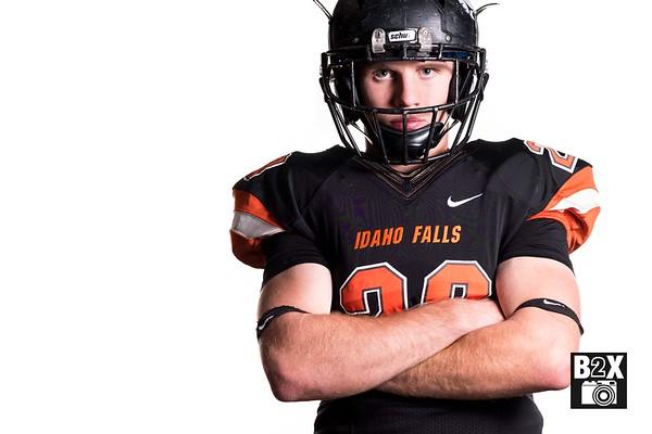 Todd Payne Idaho Falls Tigers Football Senior