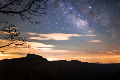 Table Rock Milky Way