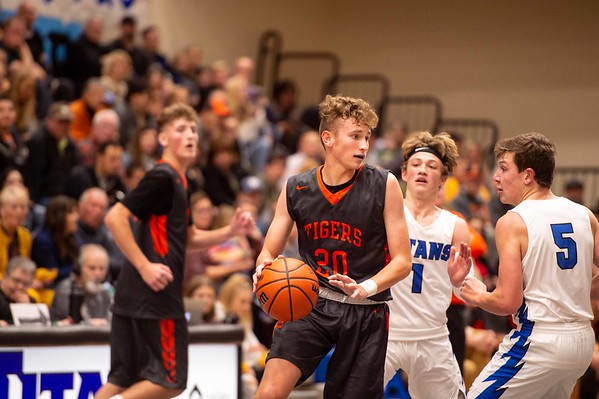 Idaho Falls Tigers Thunder Ridge Titans Basketball