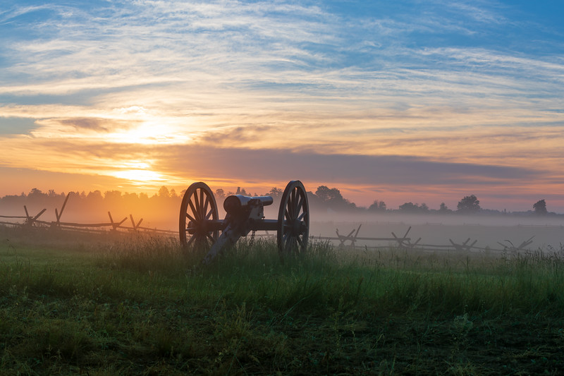 Woolfolk's Battery at Gettysburg