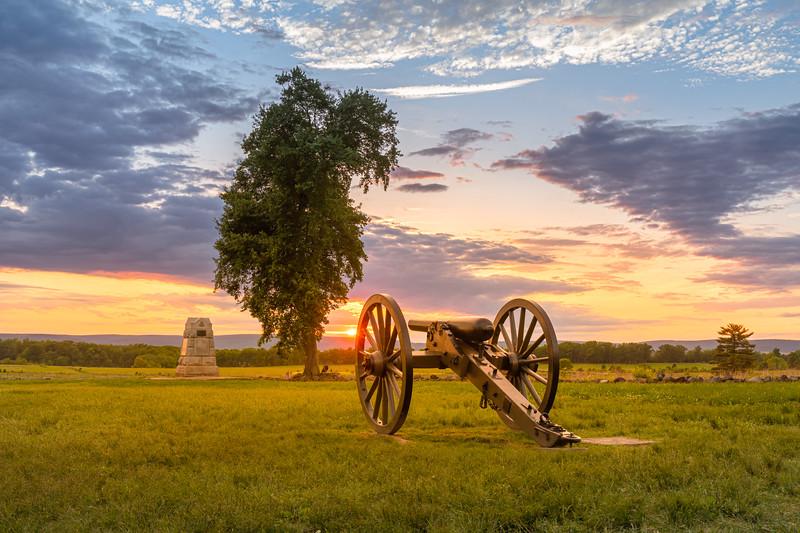 First Evening at Gettysburg