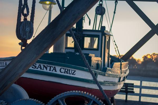 santa cruz boat