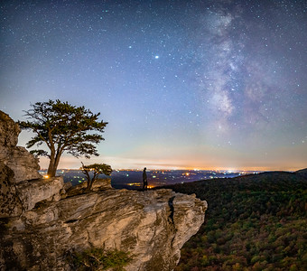 Hanging Rock Milky Way