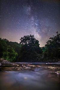Dan River at Night