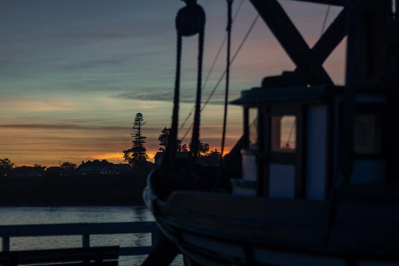 santa cruz sunset sitka