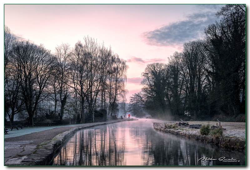 EARLY MORNING CROMFORD CANAL