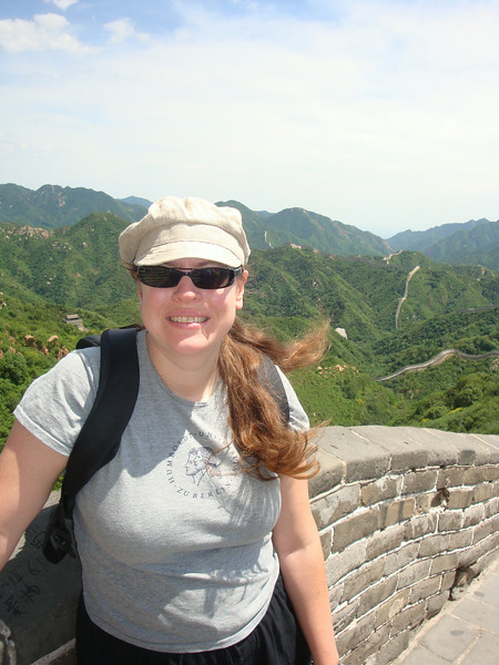 Susanne at the Great Wall