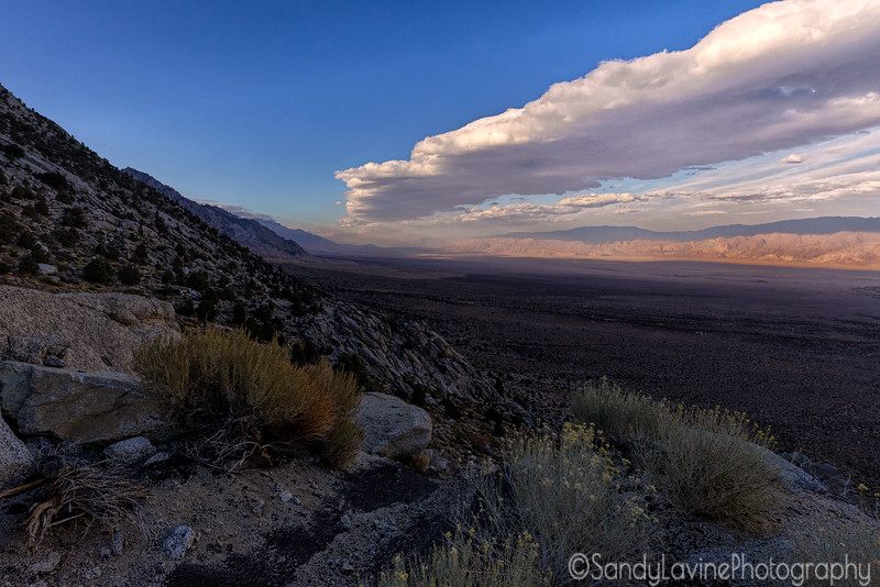 Owens Valley from Whitney Portal