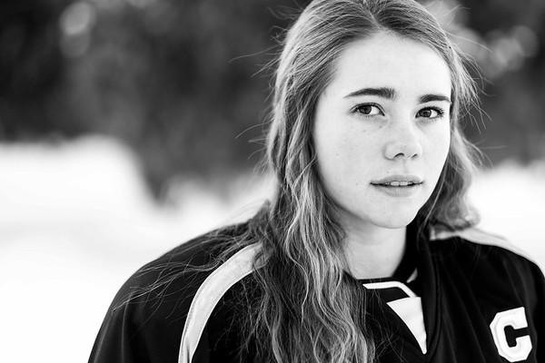 Claire Andary Idaho Falls Tigers Senior Pictures