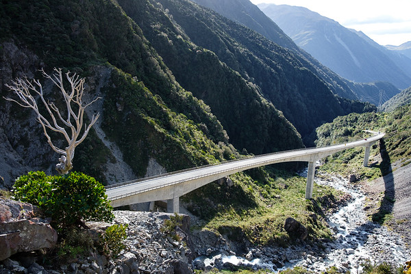 Otira Gorge Viaduct, New Zealand