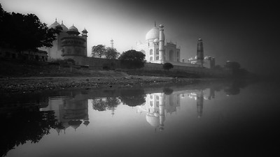 Taj Mahal at Sunrise
