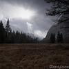 Cloudy Yosemite Valey Floor View