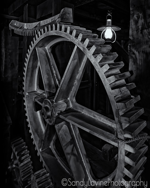 Bale Mill Gear Detail
