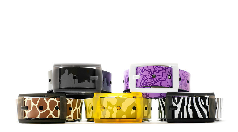 "Promotional image of the Limited Edition Astro Belt Collection<br />  <a href=""http://www.overthefly.com"">http://www.overthefly.com</a>"