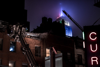 Fire on 28th Street & Lexington Avenue, New York City