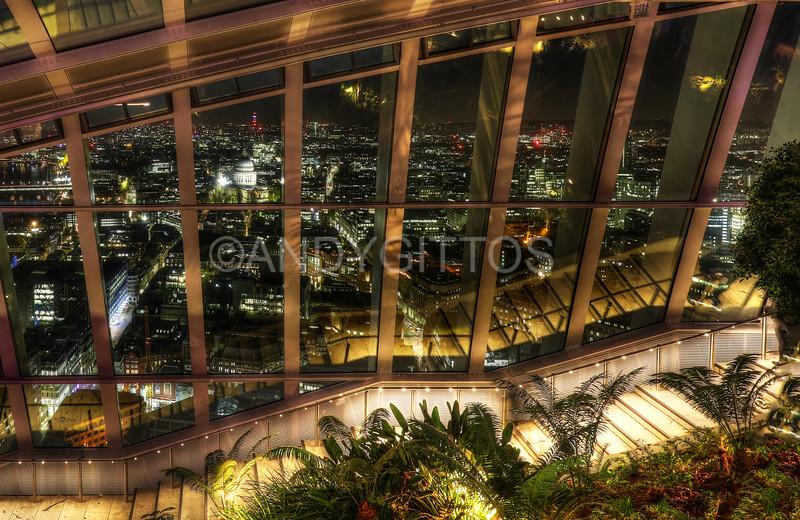 Sky Garden at Night