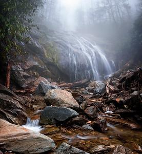 Foggy Glen Burney Falls
