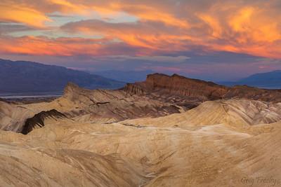 Sunrise, Zabriskie Point, Death Valley Nat'l Park