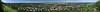Tatabánya a Szelim-barlang tetejéről