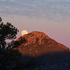 Moonrise in Chiricahua mountains