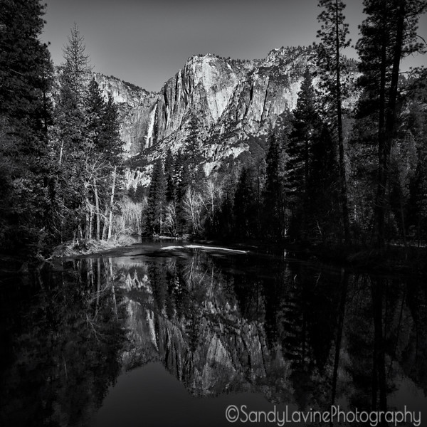 Yosemite Falls From Housekeeping Camp