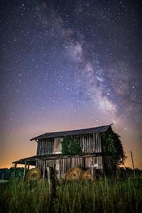 Farm beneath the stars